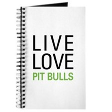 Live Love Pit Bulls Journal
