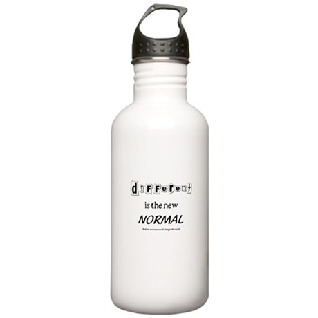 Different is the new normal Stainless Water Bottle