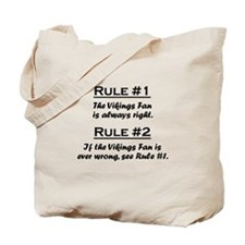 Vikings Tote Bag