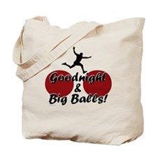 Wipeout - Goodnight and Big B Tote Bag