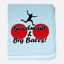 Wipeout - Goodnight and Big B baby blanket