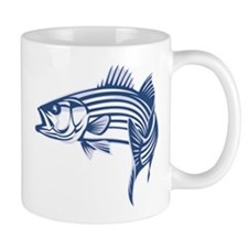 Graphic Striped Bass Mug