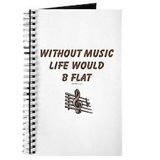 W/O Music Life's Flat Journal