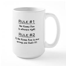Rams Fan Mug