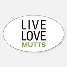 Live Love Mutts Decal