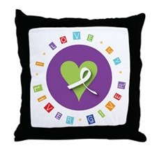 Liver Giver  Throw Pillow