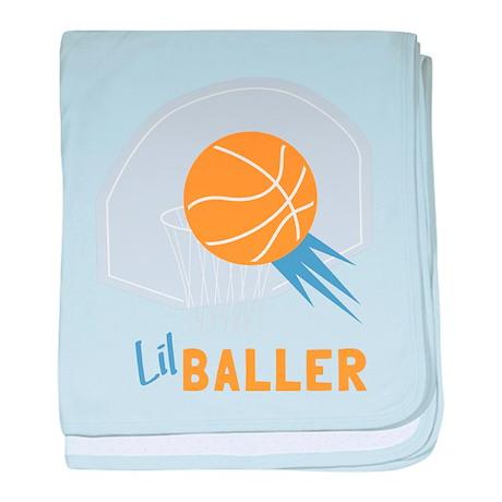 Lil Baller baby blanket