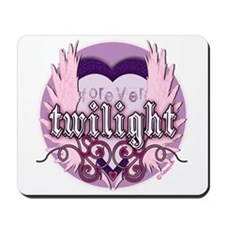Twilight Forever Heart by twibaby Mousepad