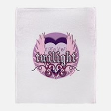 Twilight Forever Heart by twibaby Throw Blanket