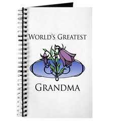 World's Greatest Grandma (Floral) Journal