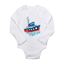 Tug Life Long Sleeve Infant Bodysuit