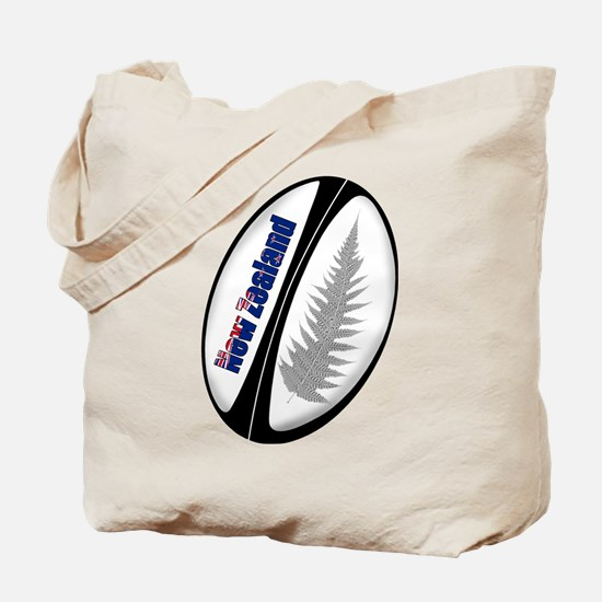 New Zealand Rugby Ball Tote Bag