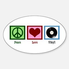 Peace Love Vinyl Decal