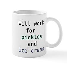 Unique Pickles ice cream Mug