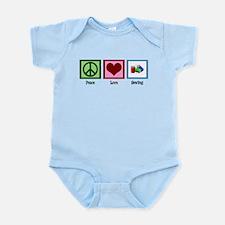 Peace Love Sewing Infant Bodysuit