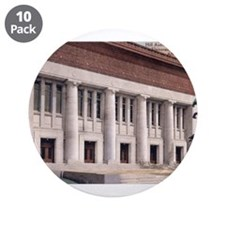 "Hill Auditorium 3.5"" Button (10 pack)"