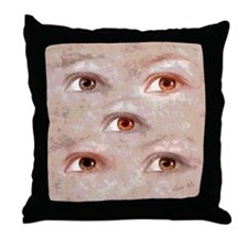 Eyes (1) Throw Pillow