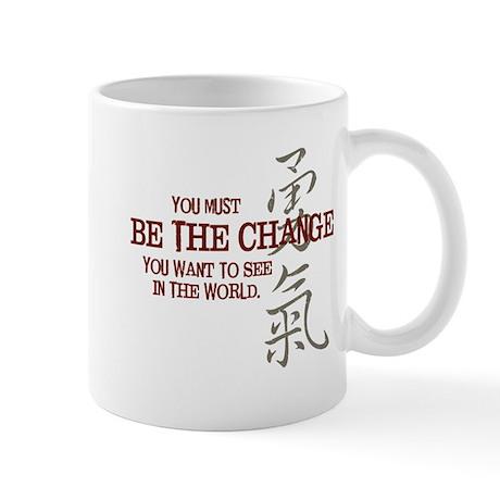 Courage (Chinese) Mug