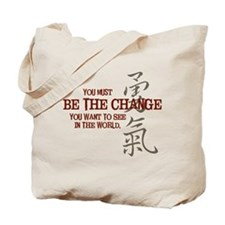 Courage (Chinese) Tote Bag
