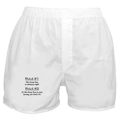 Lions Boxer Shorts