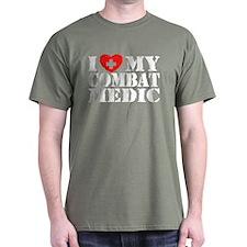 I Love My Combat Medic T-Shirt