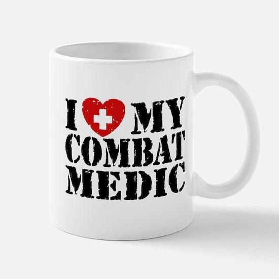 I Love My Combat Medic Mug