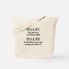 Jets Tote Bag
