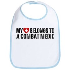 My Heart Belongs To Combat Medic Bib