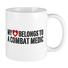 My Heart Belongs To Combat Medic Mug