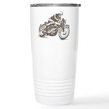 RETRO CAFE RACER Thermos Mug