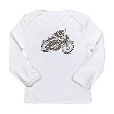 RETRO CAFE RACER Long Sleeve Infant T-Shirt