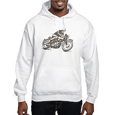 RETRO CAFE RACER Jumper Hoody