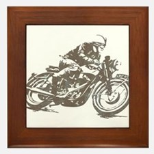 RETRO CAFE RACER Framed Tile