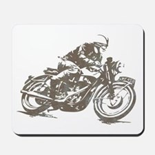 RETRO CAFE RACER Mousepad