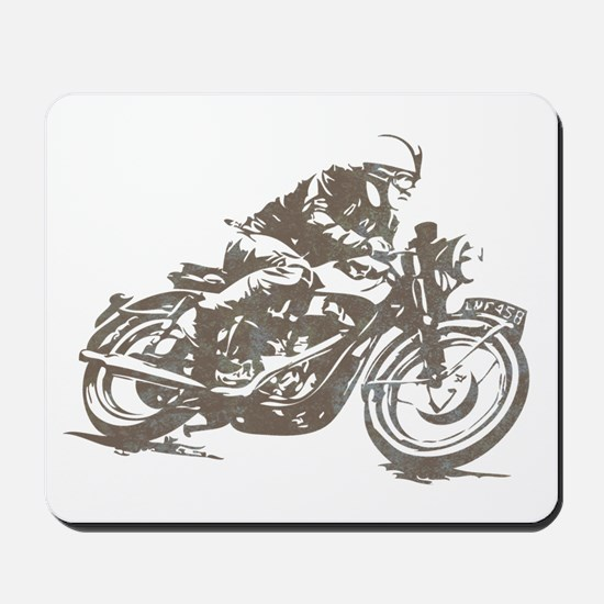 RETRO CAFE RACER Mousepad