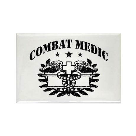 Combat Medic Rectangle Magnet
