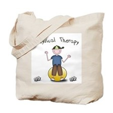 PT - Therapy ball (Boy) Tote Bag