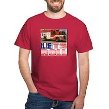 LETS ROLL Black T-Shirt