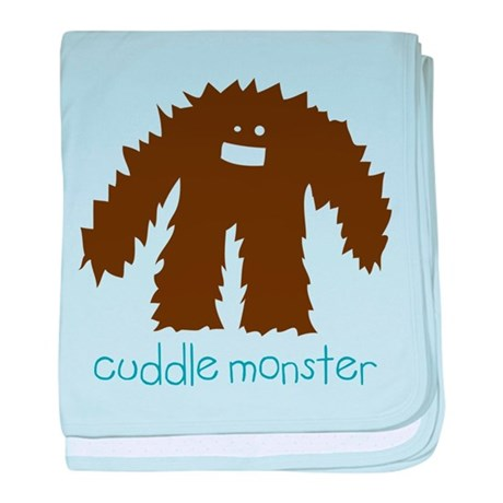 Cuddle Monster baby blanket