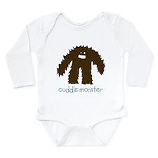 Cuddle Monster Long Sleeve Infant Bodysuit