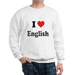 I Heart English: Sweatshirt
