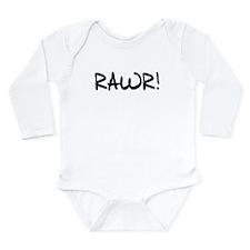 RAWR! Long Sleeve Infant Bodysuit