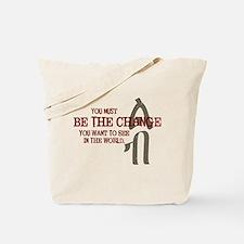 Courage (Amharic) Tote Bag