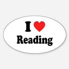 I Heart Reading: Decal