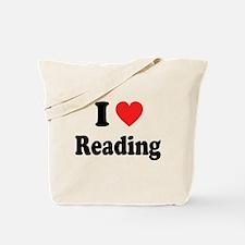 I Heart Reading: Tote Bag