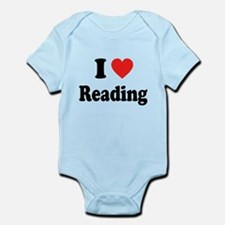 I Heart Reading: Infant Bodysuit