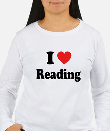 I Heart Reading: T-Shirt