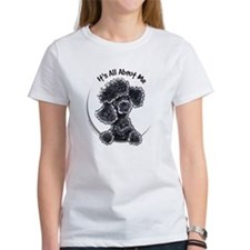 Black Poodle Lover Tee