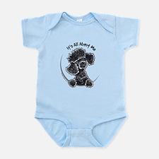 Black Poodle Lover Infant Bodysuit