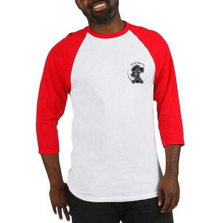 Black Poodle IAAM Pocket Baseball Jersey